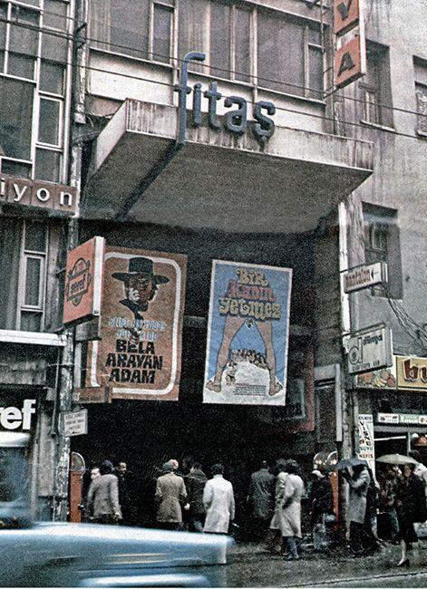 1970'li yılların başında Fitaş ve Dünya Sinemaları. Cengiz Kahraman Arşivinden.