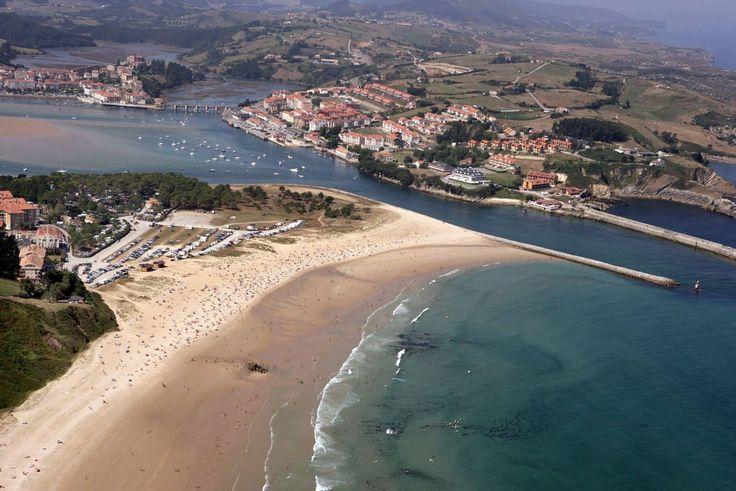Las playas de Cantabria a vista de pájaro - Cantabria - España - Spain