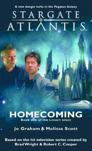 STARGATE ATLANTIS: Homecoming (Book one in the Legacy series) by Jo Graham. $4.67. Author: Jo Graham. 320 pages. Publisher: Fandemonium Books (November 15, 2011)