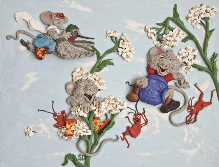 plasticine illustration for Tender Years CO-OP nursery school