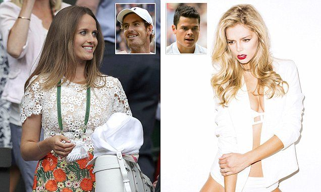 Kim squares up for a showdown withMilos Raonic's model girlfriend