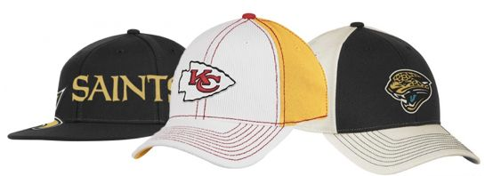 Cheap NFL and NHL Gear on Amazon: Hats for $5.50!