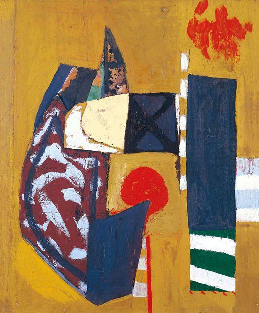 Robert Motherwell, Montauk Montage (1946-1947), via Artsy.net