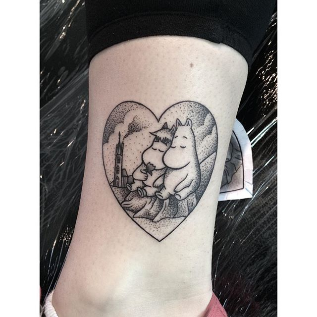 Moomin Tattoo by Matt Finch