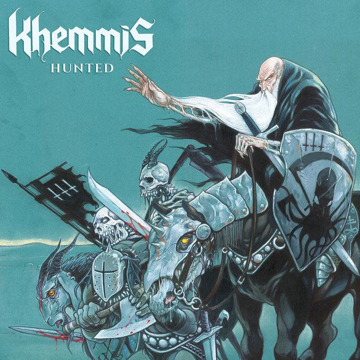 Khemmis — Hunted (2016)   Doom Metal