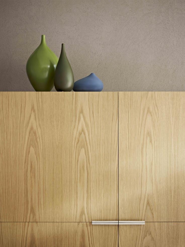 Cabinet Laminex Natural Timber Veneer American White Oak (Crown Cut).
