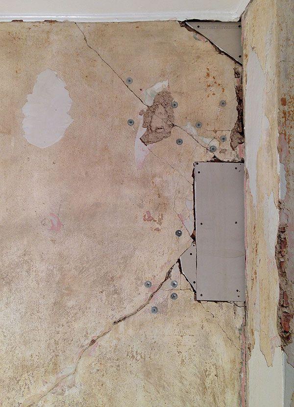 best 25 repairing plaster walls ideas on pinterest plaster repair plaster walls and how to. Black Bedroom Furniture Sets. Home Design Ideas