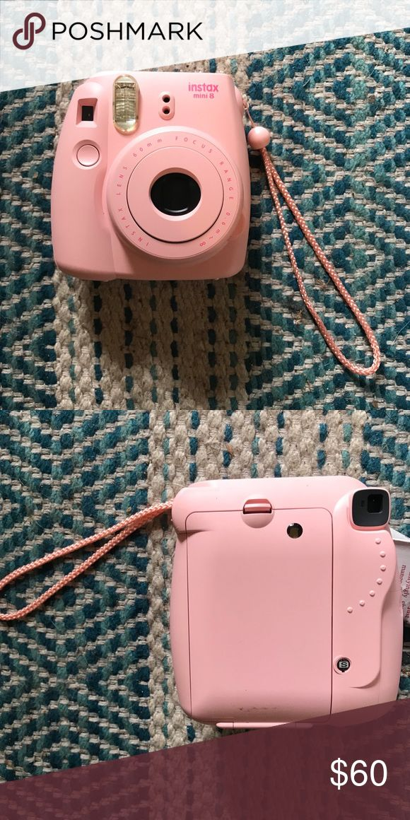 Fujifilm Polaroid Camera Light pink Instax Mini 8 Polaroid