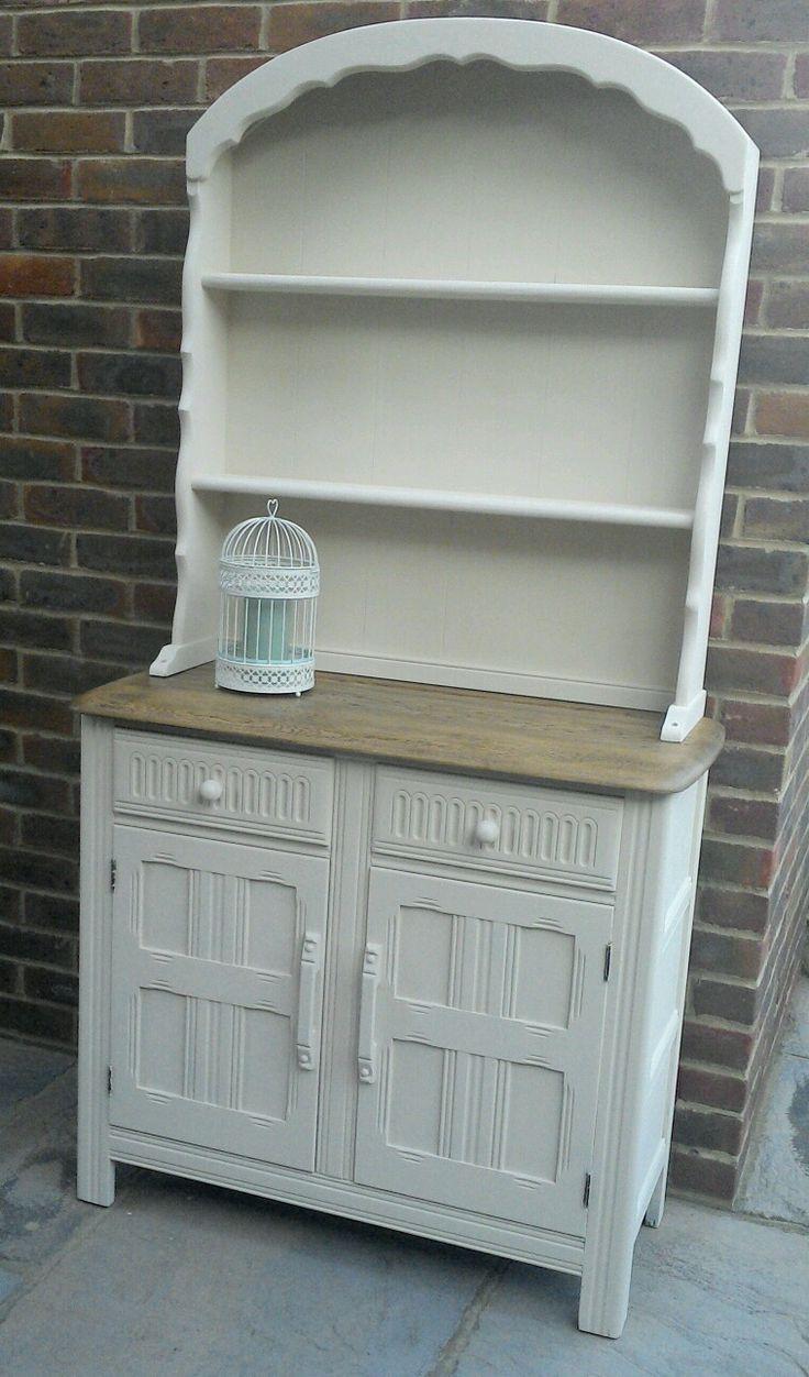 oak dutch dresser lovingly restored with autentico chalk. Black Bedroom Furniture Sets. Home Design Ideas