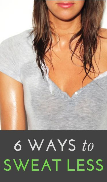 Best expert tips to reduce sweating (from simple tricks to longer-term solutions)