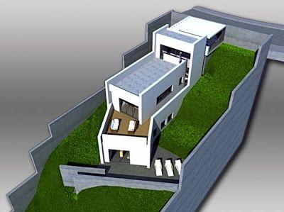 M s de 25 ideas incre bles sobre casa en desnivel en for Q significa contemporaneo