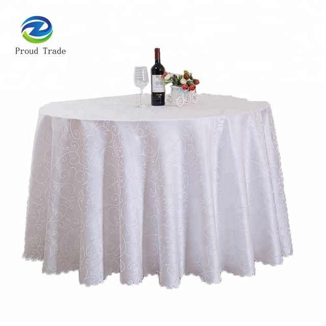 Source 60inch Cheap White Tablecloths For Wedding Party