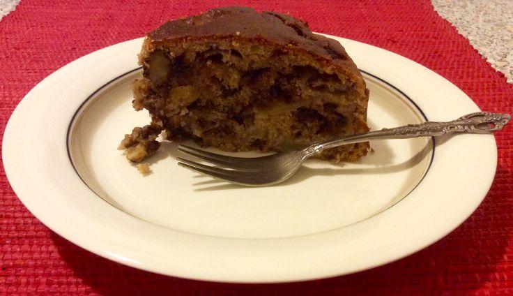 Torta di mele e gocce di cioccolato -  https://www.facebook.com/laricettadimarmotta