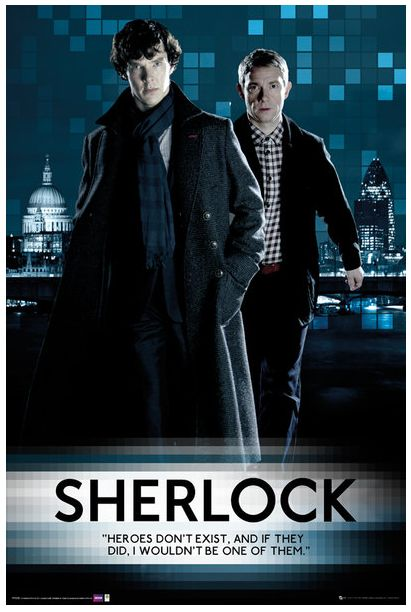 Sherlockology, Two more official Sherlock posters from GB...