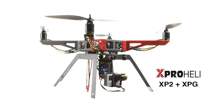 Just Released! Get SUPER SMOOTH Handheld or Aerial GoPro Video Footage with the XPROHELI XPG Brushless Gimbal.