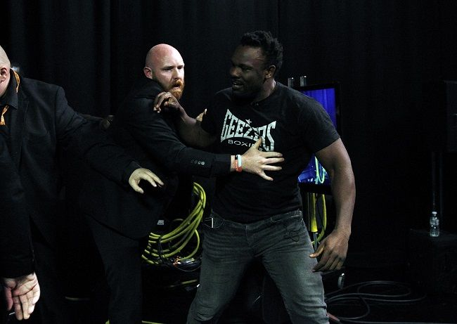 Whyte and Chisora 'Gloves Are Off' Filming Cancelled Due To Altercation - Boxing News and Views