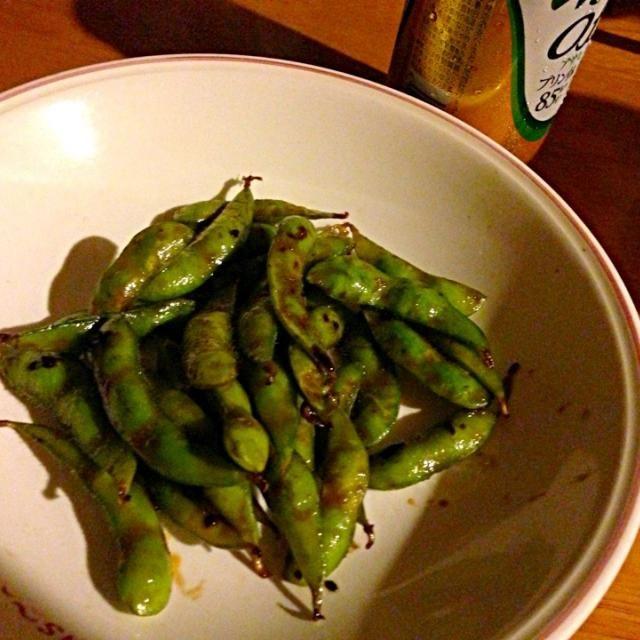 いただきます! - 25件のもぐもぐ - 枝豆オイスターソース焼き by aiiku