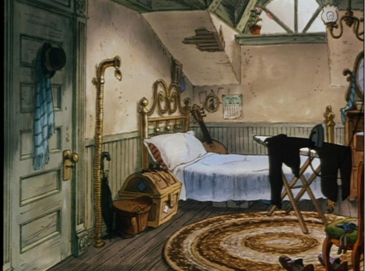 Animation Backgrounds: THE ARISTOCATS