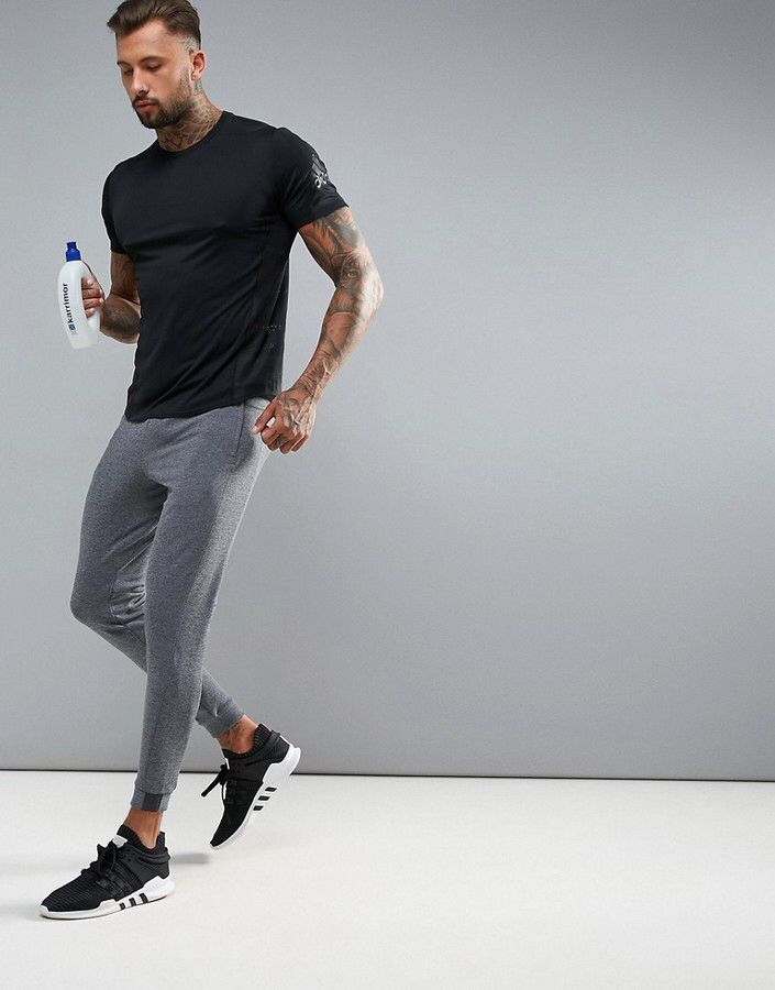 Trainning & Exercise Sets Confident Summer Men Sport Sweat Suit Short Sleeve T-shirt Sweatshirt+pant Running Jogger Exercise Workout Outfit Casual Set Sportswear Sports Clothing