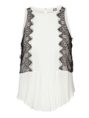 SIMONE S/L LACE TOP VERO MODA Holiday Countdown contest. Pin to win the style!