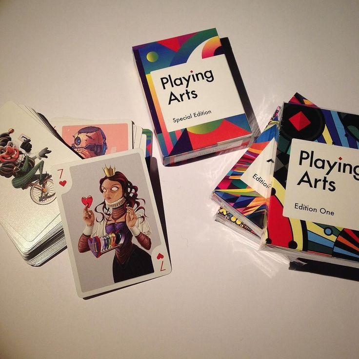 Finally after months of suspense my winning card arrived! @playingarts #playingarts #card #playingcard #illustration #robart #7hearts @art @arts_gate instagram | art | ideas | follow