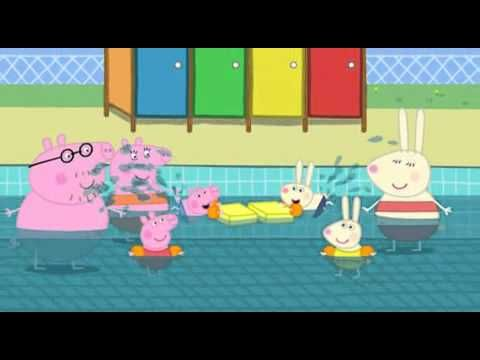 Best 25 peppa pig swimming pool ideas on pinterest for Peppa pig swimming pool english full episode