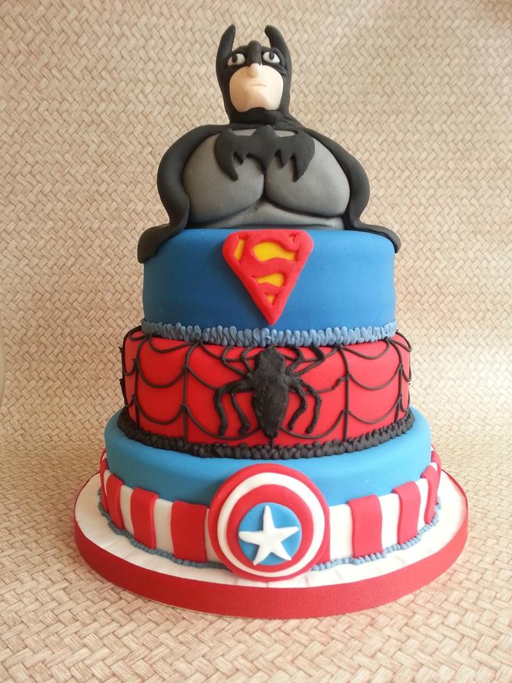 Best 25 Marvel Cake Ideas On Pinterest Avenger Cake