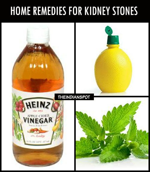 Best Home Remedy For Kidney Stones