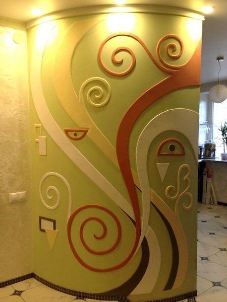 Настенное панно - Скульптура и лепка - Лепные панно и барельефы