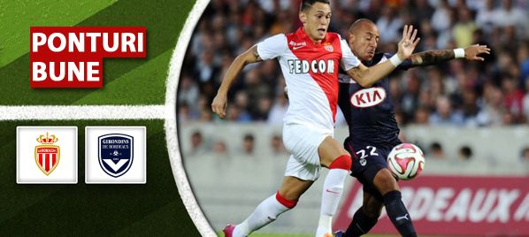 AS Monaco vs Girondins Bordeaux - Ligue 1 - analiza si pronostic - Ponturi Bune