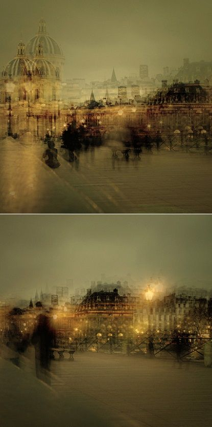 Don't you just love how beautifully frantic Paris  looks through Stephanie's  lens? With those mesmerizing multiple-exposure photographs sh...