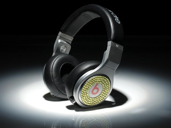 Monster Beats By Dr. Dre Pro Diamond High Performance Black Grey