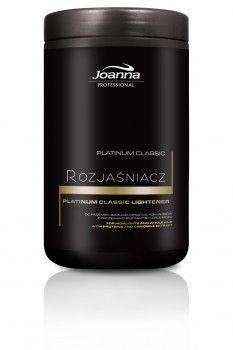 Rozjaśniacz Platinum Classic  Rozjaśniacz Platinum Classic Joanna Professional to produkt o sprawdzonej, klasycznej recepturze, która zyskała uznanie wśród wielu fryzjerów.