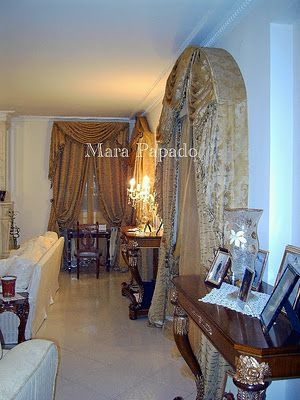 Mara Papado - Designer's workroom - Curtains ideas - Designs: Βιοτεχνία ραφής κουρτινών