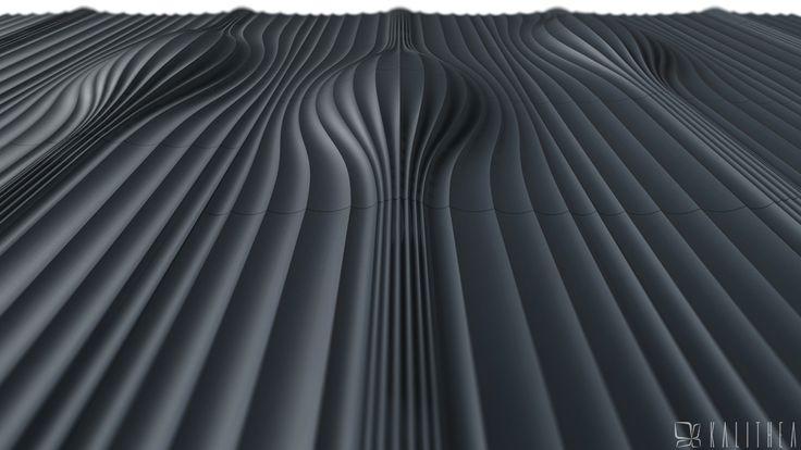 Magnetic wall panel. Kalithea