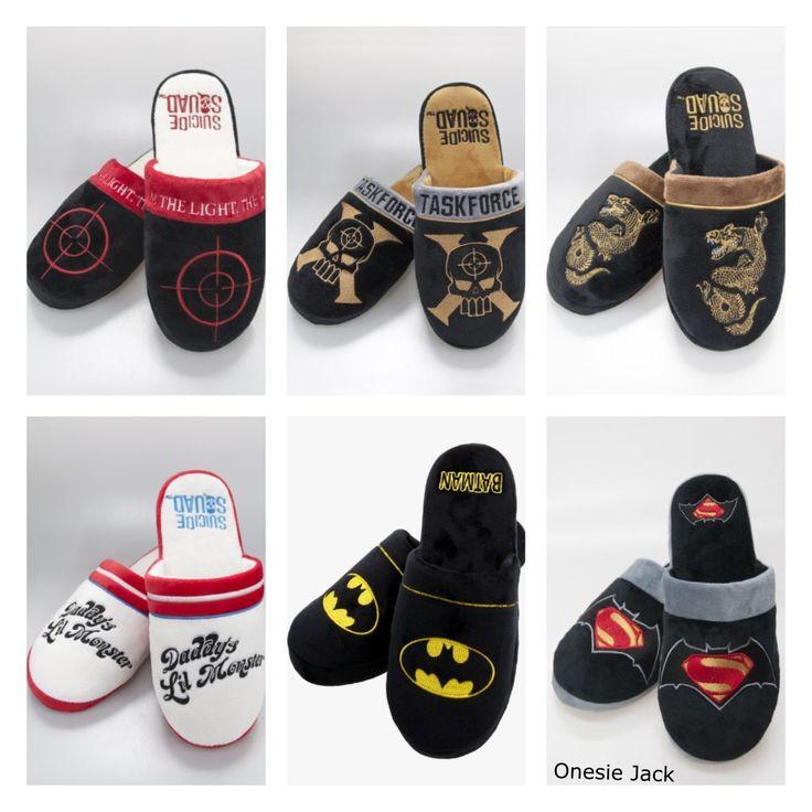 slippers,Bad slippers,pantoffels,marvel,heren schoenen,dames schoenen,star wars,breaking bad,superman,batman,spiderman,captain america door OnesieJack op Etsy