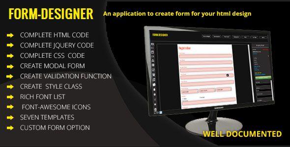 Form Designer - A JQuery Form Builder Tool - http://codeholder.net/item/javascript/form-designer-jquery-form-builder-tool