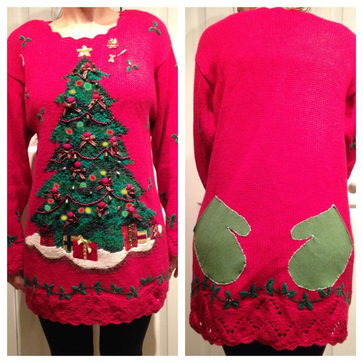 christmas sweater dress 6