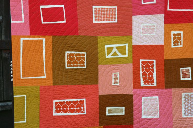 * WINNER of quilt prize; Fruit Salad quilt by Ashley from Film in the Fridge for the Umbrella Prints Trimmings Competition 2014; made from one packet of Umbrella Prints fabric Trimmings www.umbrellaprints.bigcartel.com: Fruit Salad, Color