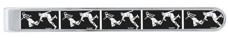 Vintage Rugby - Silver Plated Tie Bar. Available in two styles and three finishes. The ideal gift for the rugby man http://www.zazzle.com/vintage_rugby_silver_plated_tie_bar-256977568667218475 #rugby #TieBar #fashion #giftideas