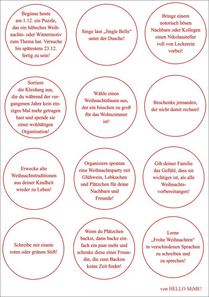 Adventskalender Weihnachtsfreuden2 Adventskalender Spruche Adventkalender Adventskalender Zum Vorlesen