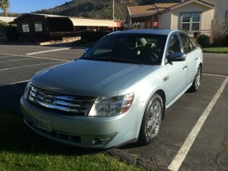 2008 FORD TAURUS LIMITED. 94278 MILES. AUTOMATIC TRANSMISSION. VIN RF3VA17A2AT007537. CLEAN CA TITLE WILL BE PROVIDED, PLATES WILL BE REMOVED, SALES TAX, SMOG, REGISTRATION, DMV FEES WILL BE THE RESPONSIBILITY OF THE BUYER. VEHICLE STARTS AND RUNS - SELLER REPORTS NO MAJOR ISSUES