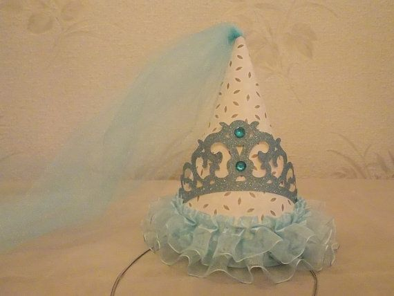 Cinderella Inspired Boutique Party Hat, Cinderella Birthday, First Birthday, Princess Party, Boutique Party Decorations on Etsy, $26.50