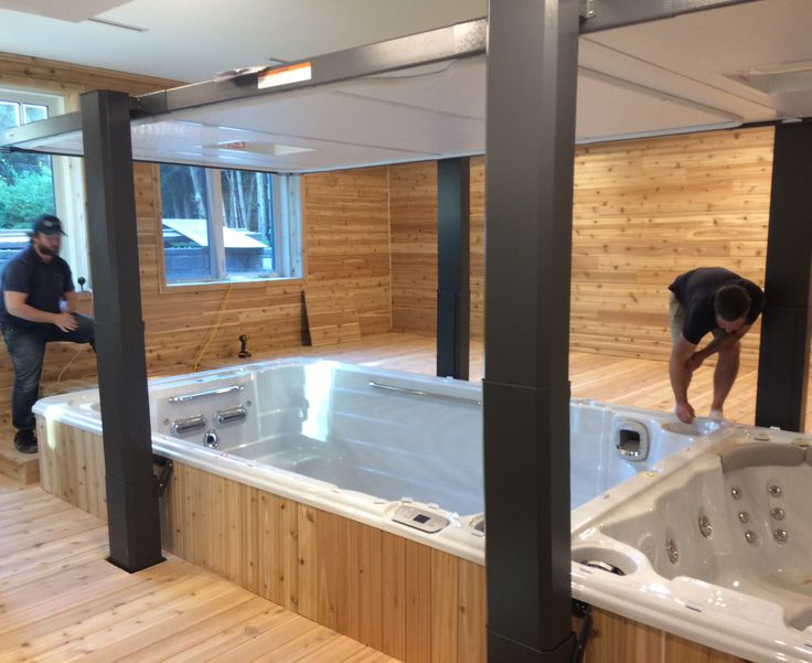 30 best Customer Hot Tub & Swim Spa Installs images on Pinterest ...