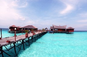 East Kalimantan, Maratua, Derawan Islands, sleeping below the warm sun, surrounded by turquoise colored sea. Perhaps swimming with turtles..
