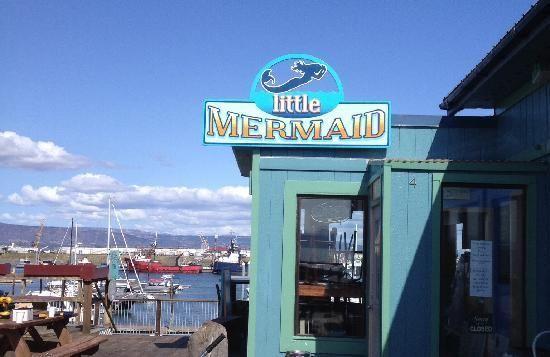 Little Mermaid Restaurant in Homer, Alaska