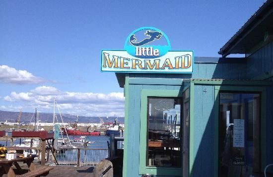 Restaurant  Little Mermaid on the Spit 4246 Homer Spit Rd Homer, AK 99603 Open today 11:00 am – 9:00 pm