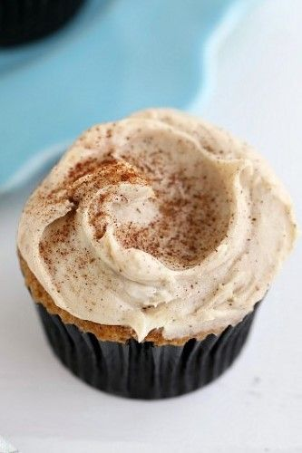 Espresso Cupcakes with Espresso Cinnamon Cream Cheese Frosting