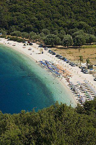 Antisamos Beach, cerca de Sami, Kefalonia (Cefalonia), Islas Jónicas, Grecia, Europa
