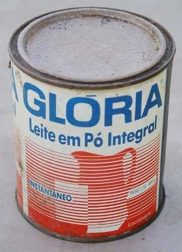 Lata Antiga De Leite Em Pó Glória - R$ 25,00